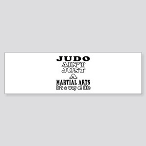 Judo Martial Arts Designs Sticker (Bumper)