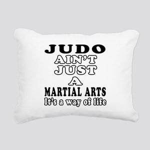 Judo Martial Arts Designs Rectangular Canvas Pillo