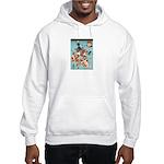 Ukiyoe Goldfish Hooded Sweatshirt