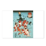 Ukiyoe Goldfish Postcards (Package of 8)