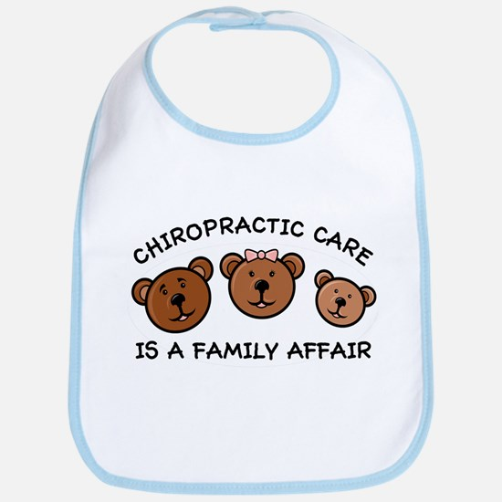 Chiro Bear Family Affair Bib
