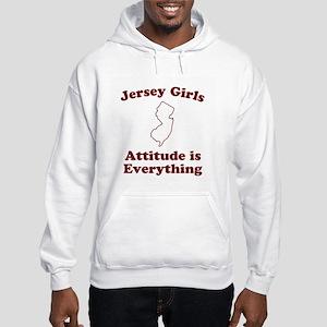Jersey Girls Hooded Sweatshirt
