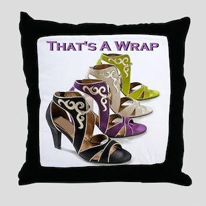 That's A Wrap Throw Pillow