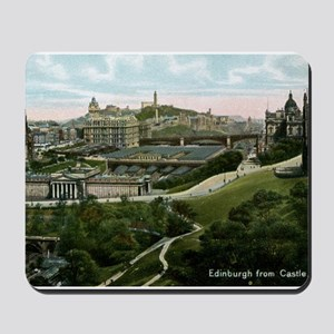 Edinburgh, Scotland, Vintage Mousepad