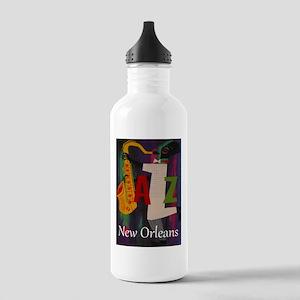 Vintage New Orleans Travel Water Bottle