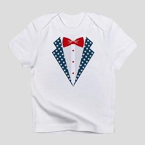 Patriotic Tuxedo Infant T-Shirt