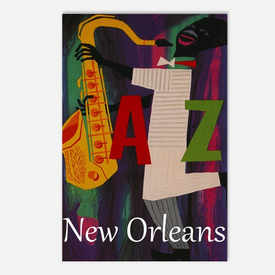 Vintage New Orleans Travel Postcards (Package of 8