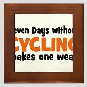 cycling Framed Tile