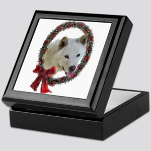 Jindo Christmas Keepsake Box