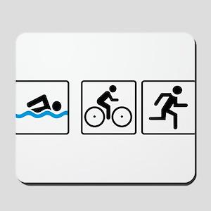 triathlon Mousepad