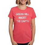 Geek Womens Tri-blend T-Shirt