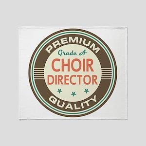 Choir Director vintage Throw Blanket