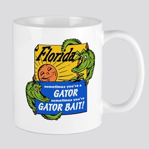 Florida Gator Bait Mug