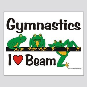 Beam Frogs Small Poster