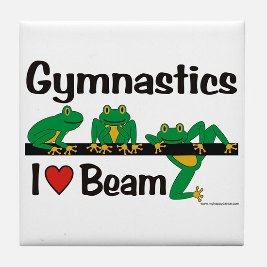 Beam Frogs Tile Coaster