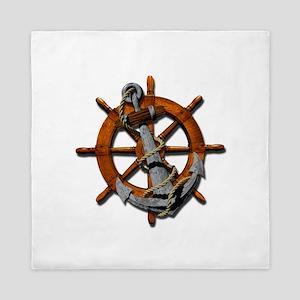 Nautical Anchor Queen Duvet
