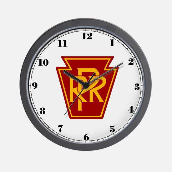 Pennsylvania Railroad Wall Clock