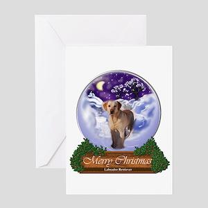 Labrador Retriever Christmas Greeting Card