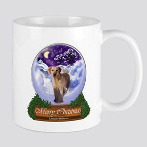 Labrador Retriever Christmas 11 oz Ceramic Mug