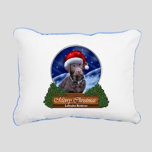 Labrador Retriever Chris Rectangular Canvas Pillow
