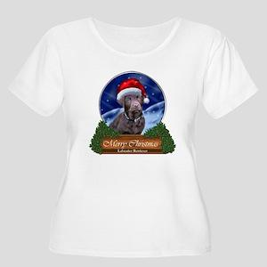 Labrador Retr Women's Plus Size Scoop Neck T-Shirt