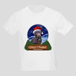 Labrador Retriever Christmas Kids Light T-Shirt