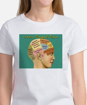 Inside a Therapist's Mind female T-Shirt