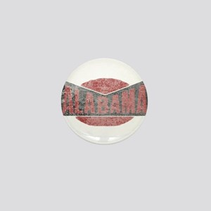 Faded Alabama Mini Button