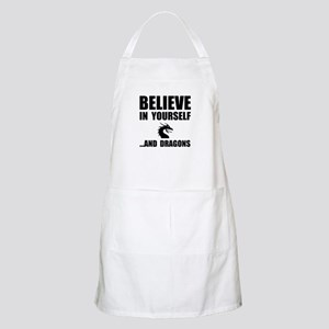 Believe Yourself Dragons Apron