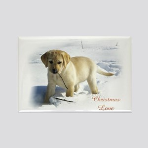 Labrador Retriever Chri Rectangle Magnet (10 pack)