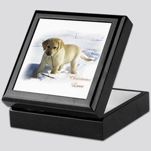 Labrador Retriever Christmas Keepsake Box