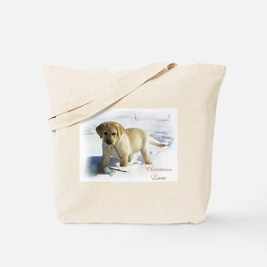 Labrador Retriever Christmas Tote Bag