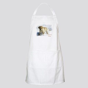 Labrador Retriever Christmas Light Apron