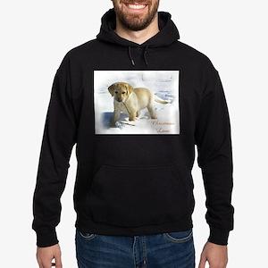 Labrador Retriever Christmas Hoodie (dark)