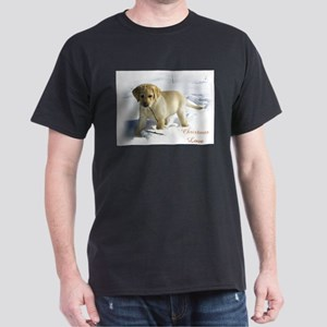 Labrador Retriever Christmas Dark T-Shirt