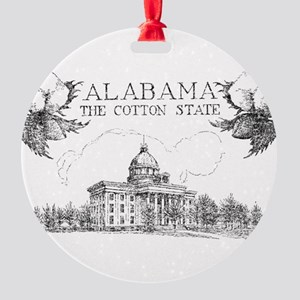 Vintage Alabama Cotton Ornament