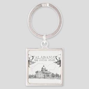 Vintage Alabama Cotton Keychains