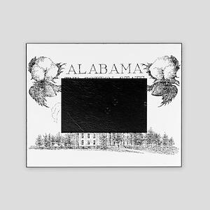 Vintage Alabama Cotton Picture Frame