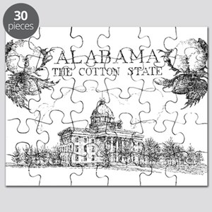 Vintage Alabama Cotton Puzzle