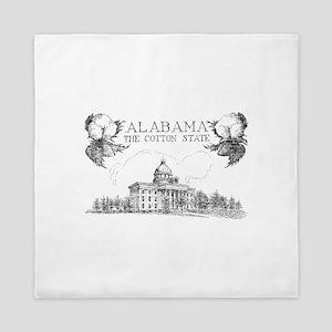 Vintage Alabama Cotton Queen Duvet