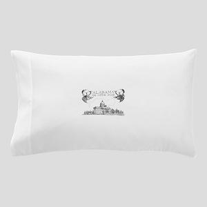 Vintage Alabama Cotton Pillow Case