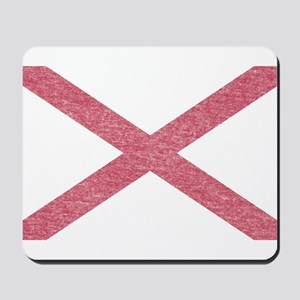 Alabama Vintage State Flag Mousepad