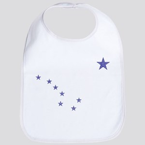Faded Alaska State Flag Bib