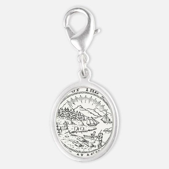 Vintage Alaska State Seal Charms