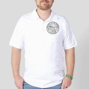 Vintage Alaska State Seal Golf Shirt