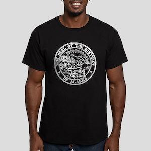 White Alaska State Seal T-Shirt