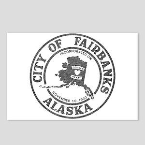 Vintage Fairbanks Alaska Postcards (Package of 8)