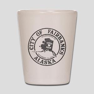 Vintage Fairbanks Alaska Shot Glass