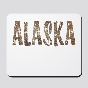 Alaska Coffee and Stars Mousepad