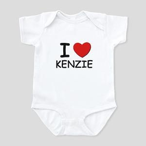 I love Kenzie Infant Bodysuit